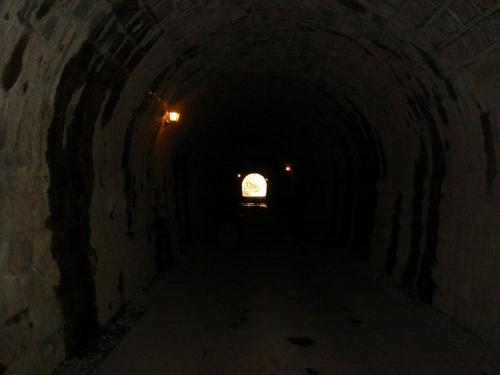 旧天城峠の石造りトンネル